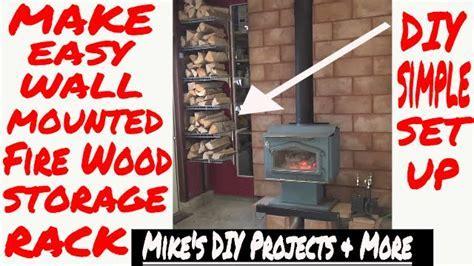 "DIY Easy Fire Wood Storage Rack ""Designer EP 7 of 7   YouTube"