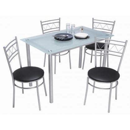 chaise blanche de cuisine table et chaise de cuisine grise