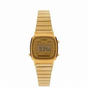 Montre Vintage Casio : ysora montre casio vintage avec bracelet en acier dor pour femme la670wega 9ef ~ Maxctalentgroup.com Avis de Voitures