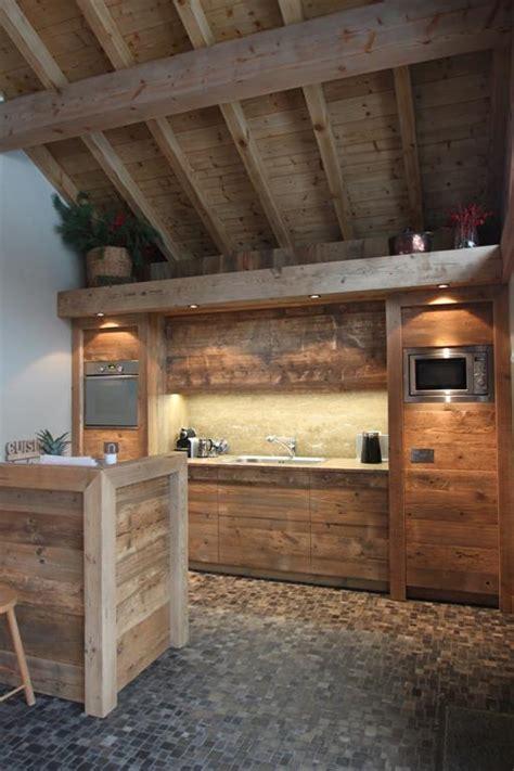 d馗o cuisine ouverte cuisine ouverte en bois sur mesure photo n 45 domozoom