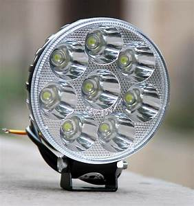 12v 24w Led Light Motorcycle Moped Boat Off Road