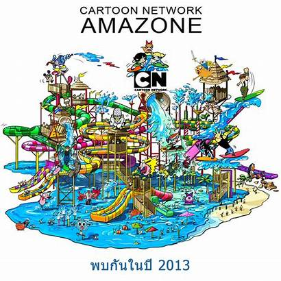 Cartoon Network Park Thailand Water Amazone Theme