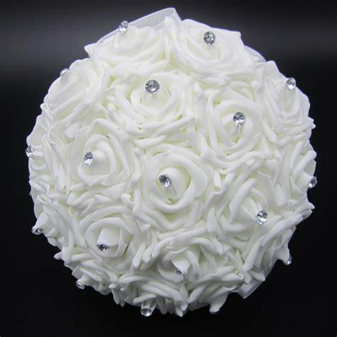 buy lovely white wedding bouquet bridal