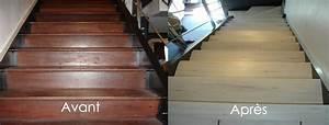 Renover Un Escalier En Bois : r nover son escalier avec du c rus r novation d ~ Premium-room.com Idées de Décoration