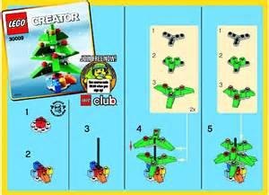 lego christmas tree instructions 30009 creator
