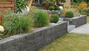 Terrasse Höher Als Garten : muretto mauersystem setzen sie grenzen mit mehr freiheit ~ Orissabook.com Haus und Dekorationen