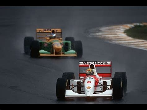 Ayrton Senna Wins For The Last Time In Brazil 1993 Youtube