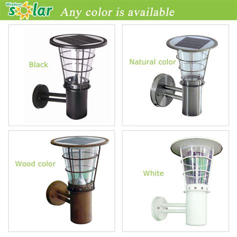 modern solar led outdoor wall light wall mounted outdoor