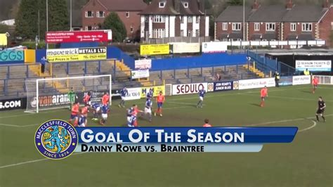 Macclesfield Town Goal Of The Season 2015/16 - YouTube