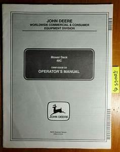 John Deere 48c Mower 10001