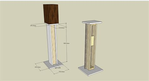 studiol staand buy wood speaker stand plans you here