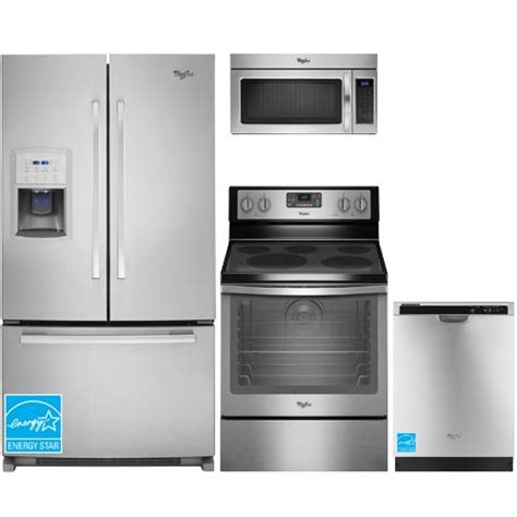 whirlpool gifsaxvy stainless steel complete kitchen