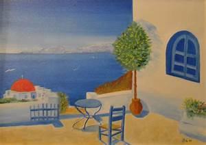 Carmelo Scuderi Quadri ad Olio ed Acquerello: Grecia I miei dipinti ad olio ed Acquerello