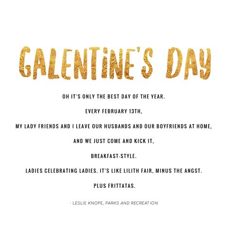 Definition of Galentine's Day