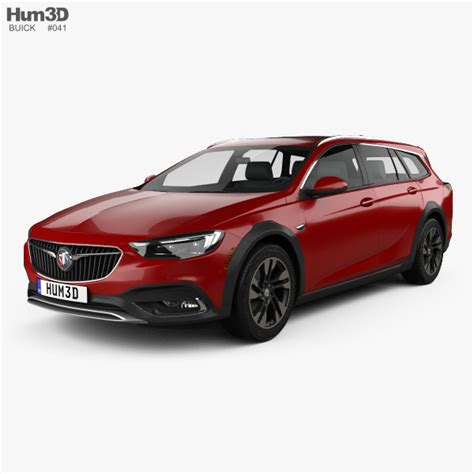 Buick Us by Buick Regal Tourx Us 2017 3d Model Vehicles On Hum3d