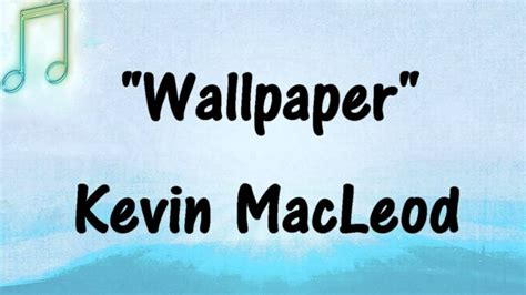 Kevin Macleod  Wallpaper  Contemporary Electronic Music
