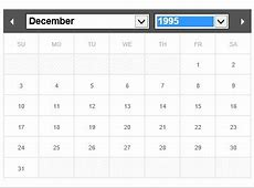 Flexible and MultiLanguage jQuery Calendar & Datepicker