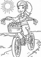 Coloring Bike Pages Riding Safety Bmx Drawing Bicycle Carrie Colouring Printable Underwood Colorings Getdrawings Getcolorings Helmet Drawings Holly Hobbie Comments sketch template
