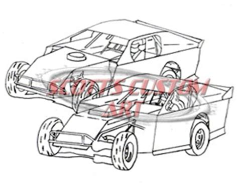 dirt track coloring book