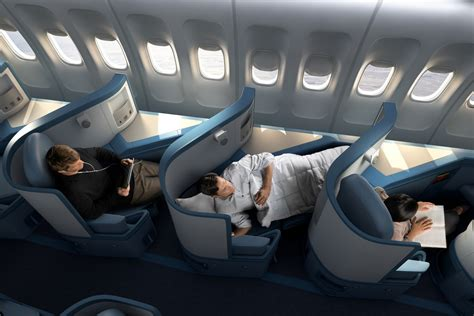 klm reservation siege delta completes flat bed seats installation on all