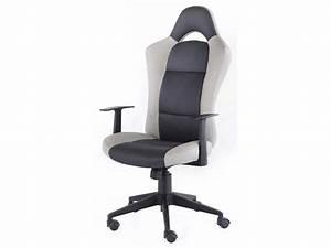Conforama Chaise Bureau : chaise de bureau racer ~ Teatrodelosmanantiales.com Idées de Décoration