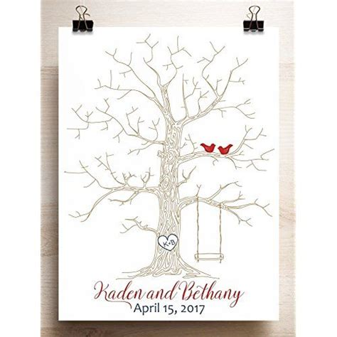 25 best ideas about thumbprint tree wedding on purple and green wedding guestbook