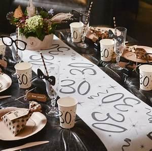 Chemin De Table Anniversaire : chemin de table anniversaire par ges 1001 d co table ~ Melissatoandfro.com Idées de Décoration