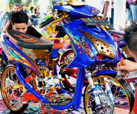Beat Merah Kontes by 35 Foto Gambar Modifikasi Mio Soul Gt Thailook Airbrush