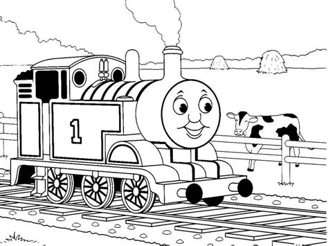 printable thomas  train coloring pages coloring home