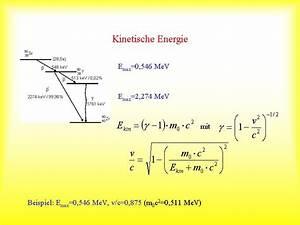 Kinetische Energie Berechnen : beta strahlung ablenkung im magnetfeld h j wollersheim ~ Themetempest.com Abrechnung