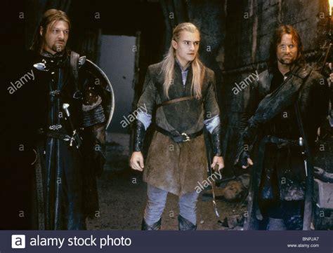 Sean Bean Orlando Bloom Viggo Mortensen The Lord Of The