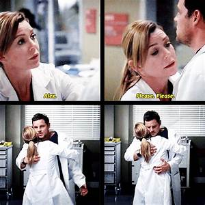Grey's Anatomy. Meredith and Alex