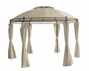 Ersatzdach Für Rund Pavillon Beige ø 3 5 M : gartenpavillon g nstig sicher kaufen bei yatego ~ Indierocktalk.com Haus und Dekorationen