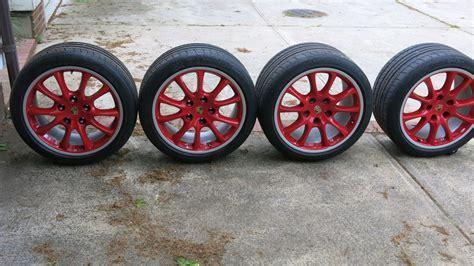 fs  gt factory guards red wheels rennlist porsche