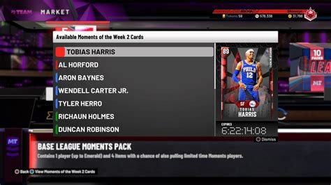 NBA 2K20 MyTeam: Moments of the Week 2 - Operation Sports