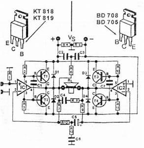 Scematic Diagram Panel  200w Ampli Schematic With Tda