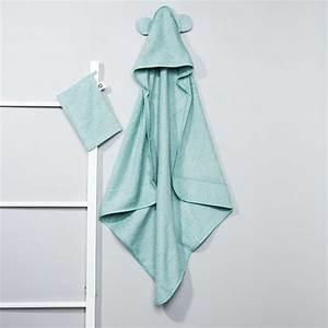 Cape De Bain Kiabi : ensemble cape de bain et gant assorti b b gar on vert ~ Melissatoandfro.com Idées de Décoration