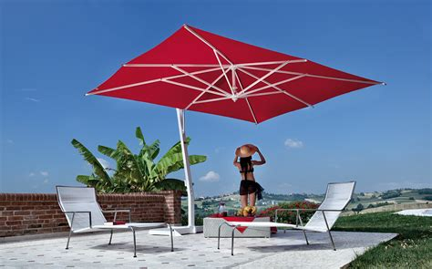 Large Fim Cantilever Patio Umbrella by Modern Outdoor Furniture