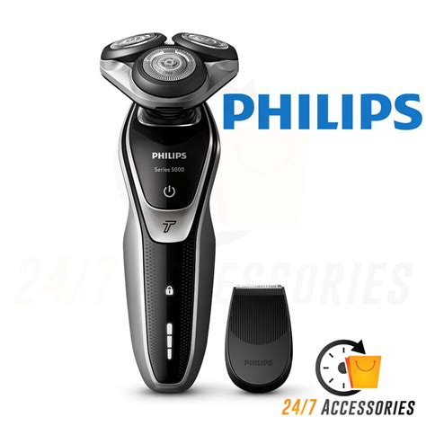 philips cordless electric mens shaver series washable