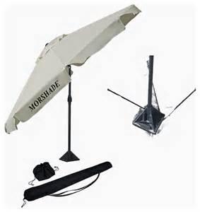 morshade portable 9 foot patio and umbrella with