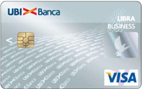 libra business carta  credito ubi  imprese