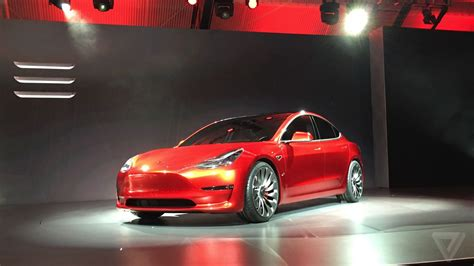Model Prices by Tesla Model 3 Announced Release Set For 2017 Price