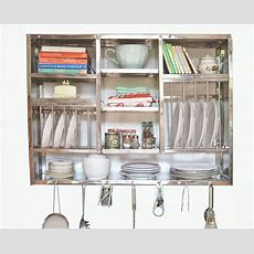 Stainless Steel Plate Rack To Organize Your Kitchen Well