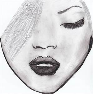 Dessin De Plume Facile : portrait rihanna un amour de dessin ~ Melissatoandfro.com Idées de Décoration