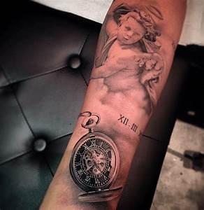 Tatouage Montre A Gousset Avant Bras : tatouage chiffre romain avant bras cochese tattoo ~ Carolinahurricanesstore.com Idées de Décoration