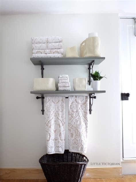 bathroom shelves  victorian