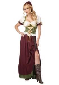 robe de mariã e corset renaissance wench costume