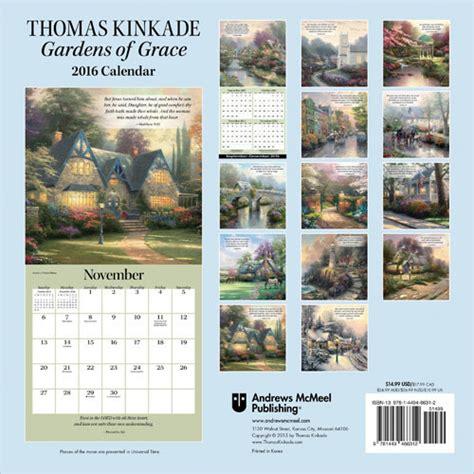thomas kinkade gardens grace calendars abposterscom