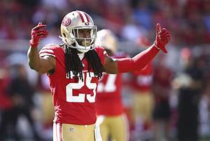 49ers 39 richard sherman ok for sunday but practice routine