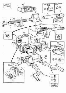 Volvo V90 Washer  Console  Heater  Trim
